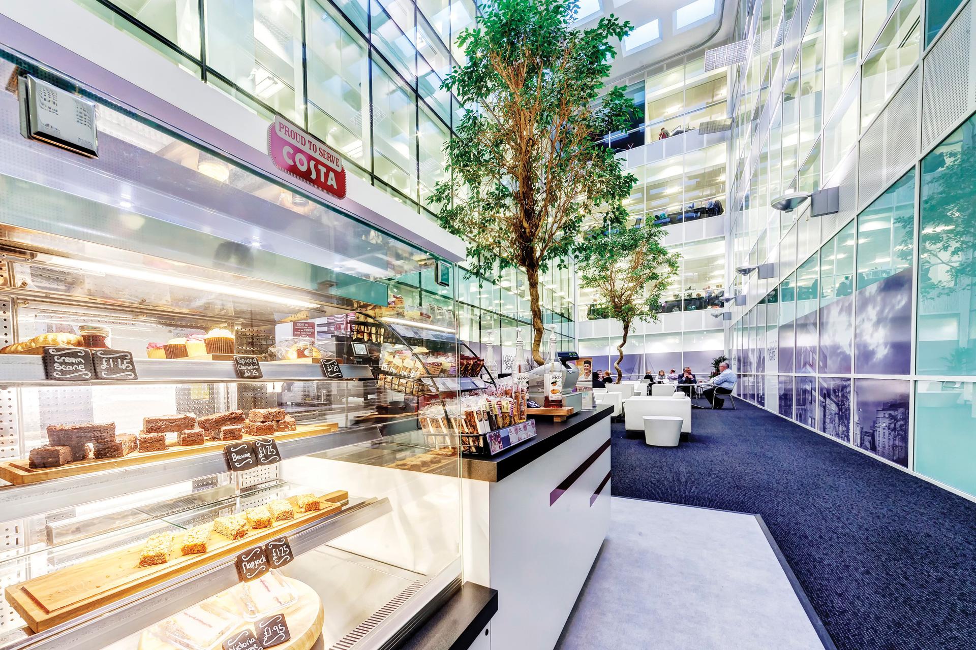 Atrium with Costa Coffee